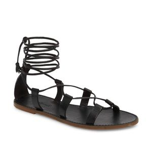 Madewell Boardwalk Lace-Up Sandals